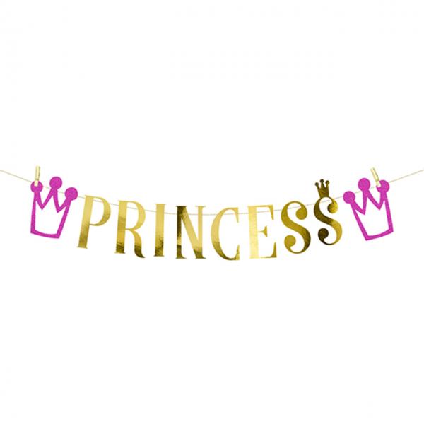 1 Bannergirlande - Princess