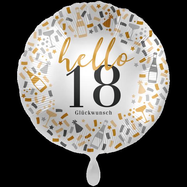 1 Ballon XXL - Hello 18