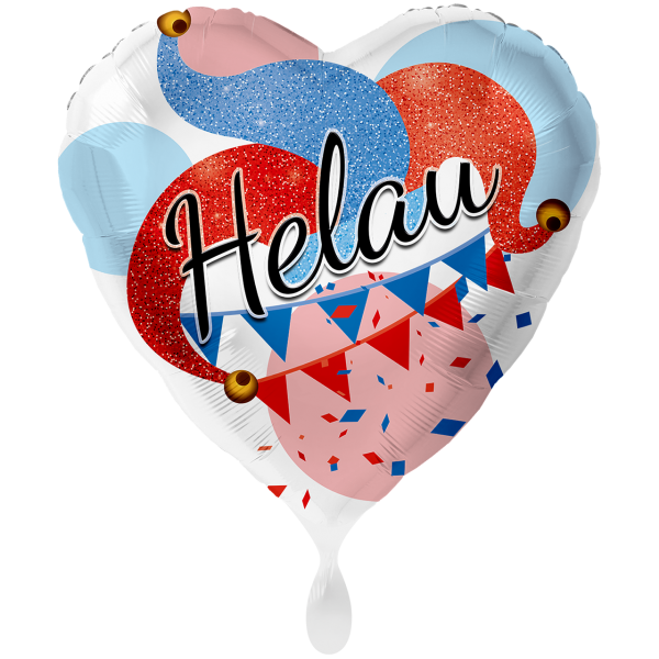 1 Ballon XXL - Helau