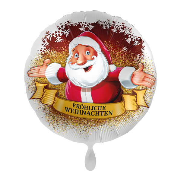 1 Ballon - Weihnachtsgrüße