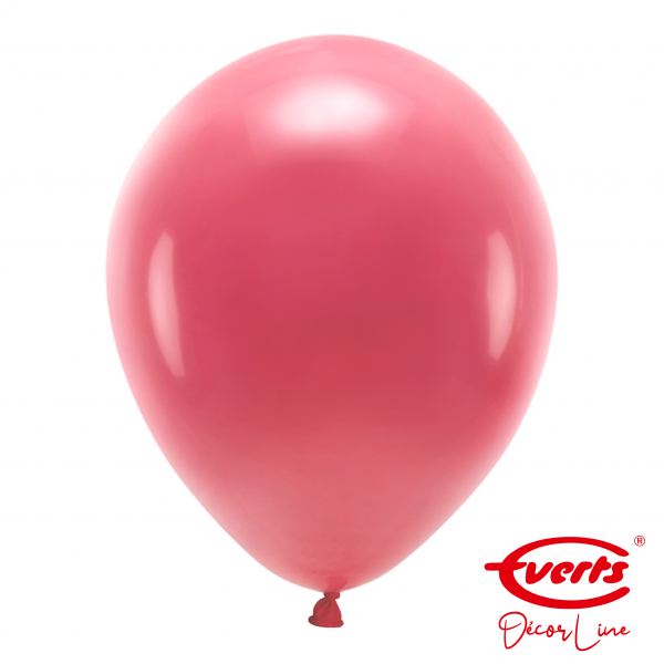 50 Luftballons - DECOR - Ø 35cm - Crystal - Berry