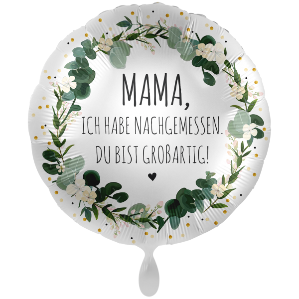 1 Ballon XXL - Mama Du bist großartig!