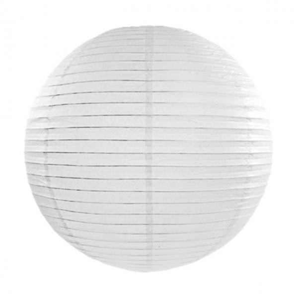 1 Lampion XXXL - Ø 55cm - Weiß