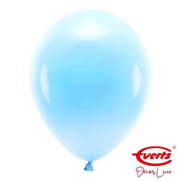 50 Luftballons - DECOR - Ø 35cm - Pearl & Metallic - Pastel Blue