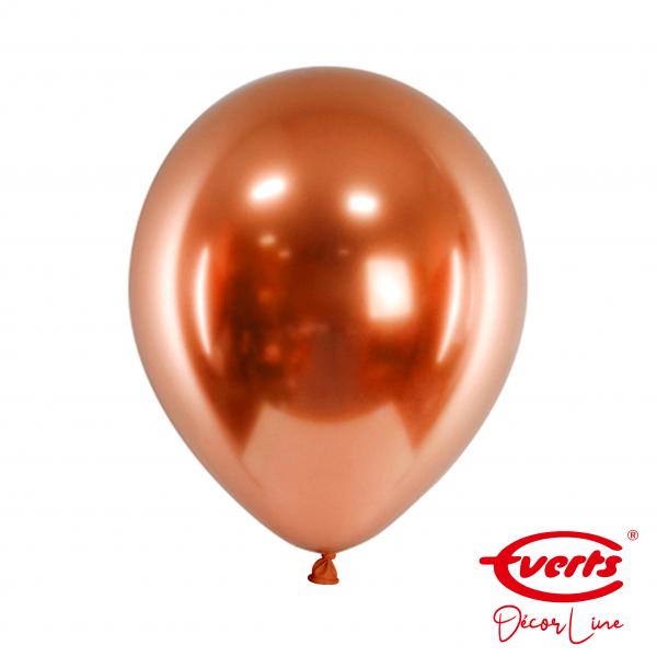 50 Luftballons - DECOR - Ø 28cm - Satin Luxe - Amber