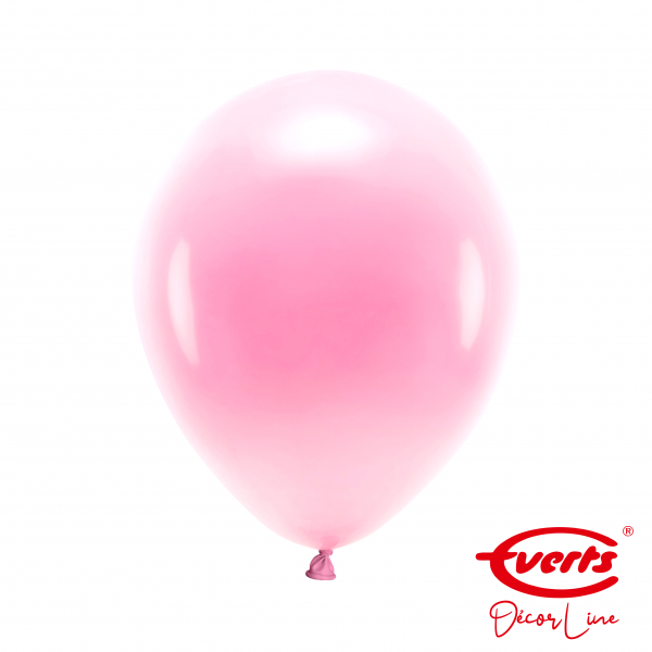 50 Luftballons - DECOR - Ø 28cm - Pearl & Metallic - Pretty Pink (Rosa)