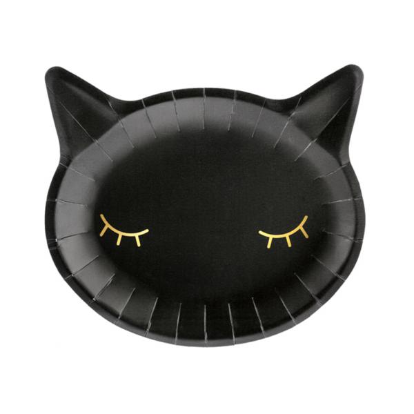 6 Pappteller Trend - Ø 22cm - Cat