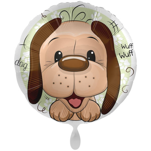 1 Ballon XXL - Playful Dog