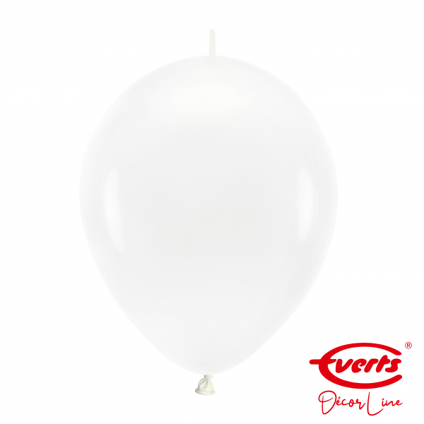 50 Girlandenballons - DECOR - Ø 30cm - Crystal - Clear