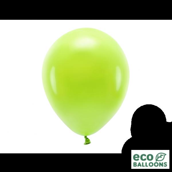 10 ECO-Luftballons - Ø 26cm - Green Apple