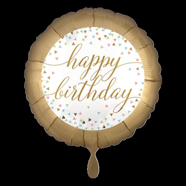 1 Ballon - Pastel Confetti