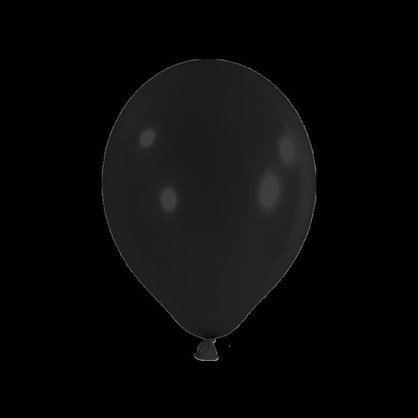 10 Luftballons - Ø 27cm - Schwarz