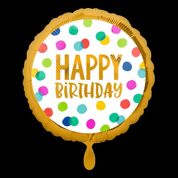 1 Ballon - Happy Dots