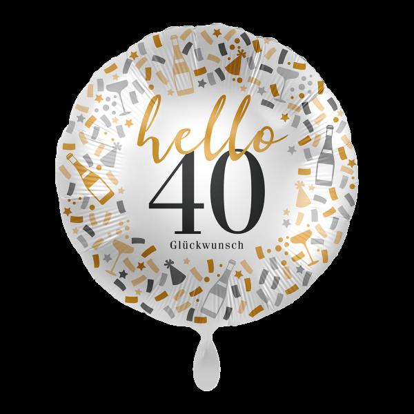 1 Ballon - Hello 40