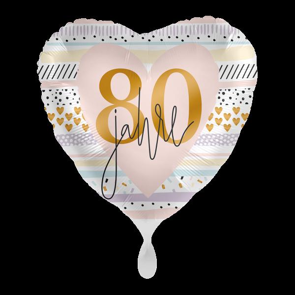 1 Ballon - Creamy Blush 80