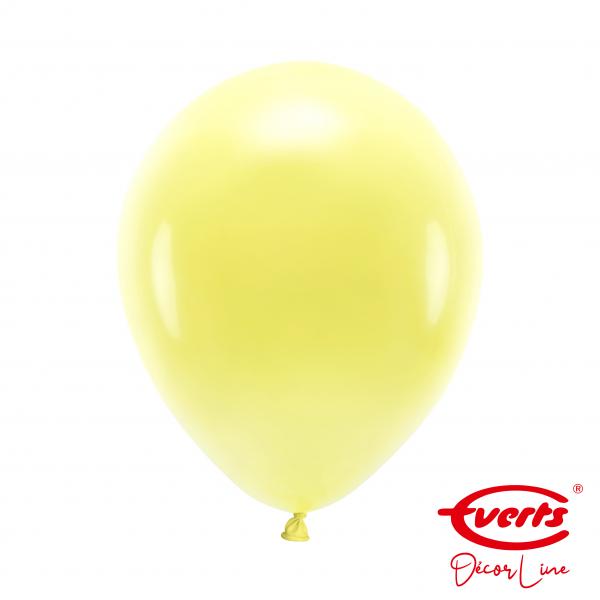 50 Luftballons - DECOR - Ø 28cm - Crystal - Sunshine Yellow