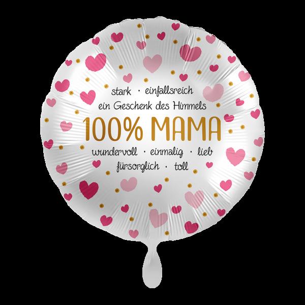 1 Ballon - 100% Mama