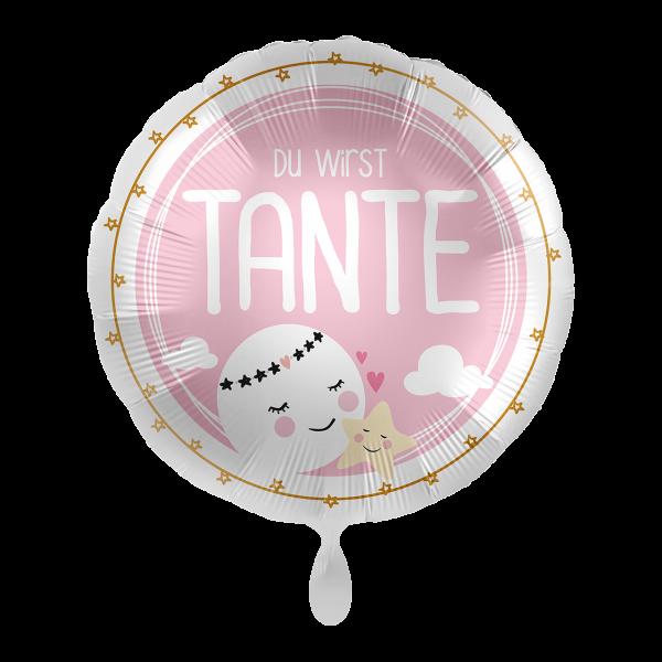 1 Ballon - Du wirst Tante