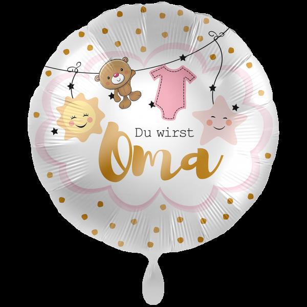 1 Ballon XXL - Du wirst Oma