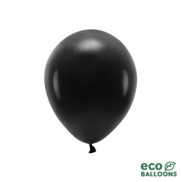 10 ECO-Luftballons - Ø 26cm - Black