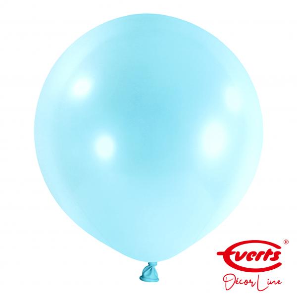 4 Riesenballons - DECOR - Ø 60cm - Pastel Blue