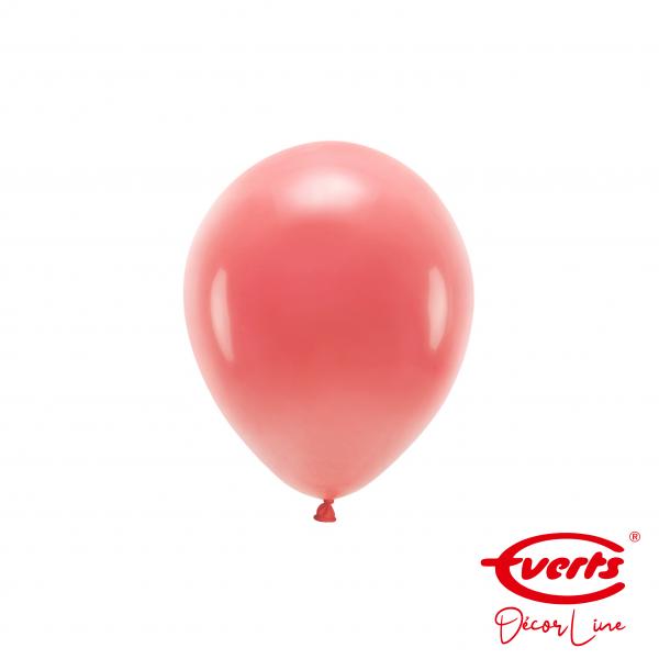 100 Miniballons - DECOR - Ø 13cm - Crystal - Apple Red