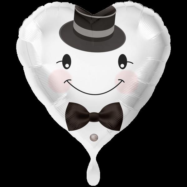 1 Ballon XXL - Bräutigam