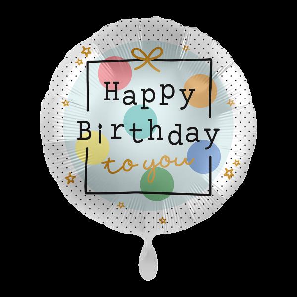 1 Ballon - Birthday Present