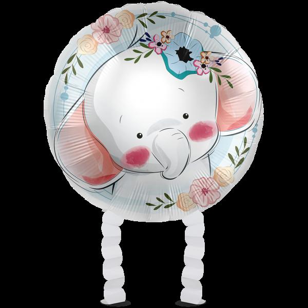 1 Ballonwalker - Cute Elephant