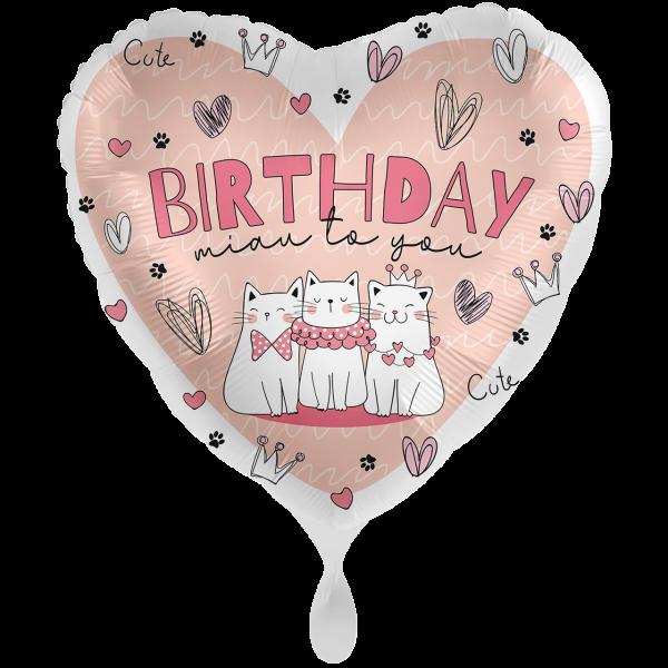 1 Ballon XXL - Miau to you