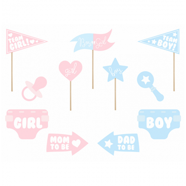 1 Photobooth Set - Boy or Girl