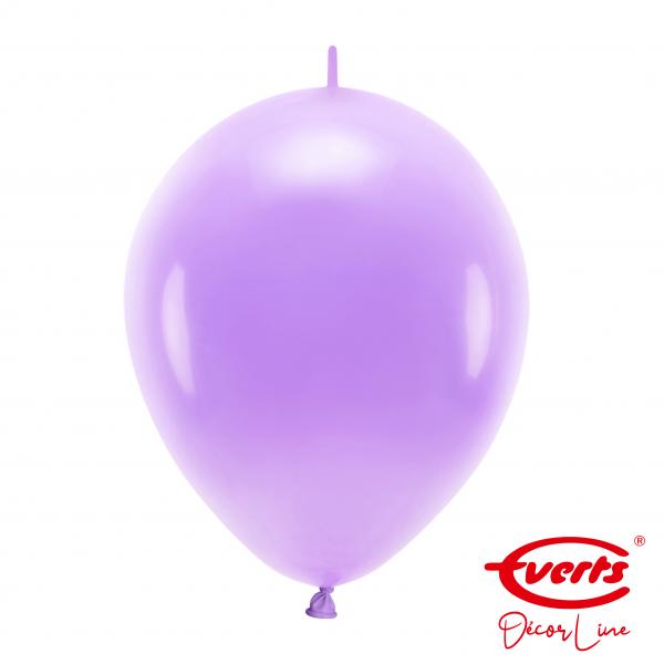 50 Girlandenballons - DECOR - Ø 30cm - Lavender