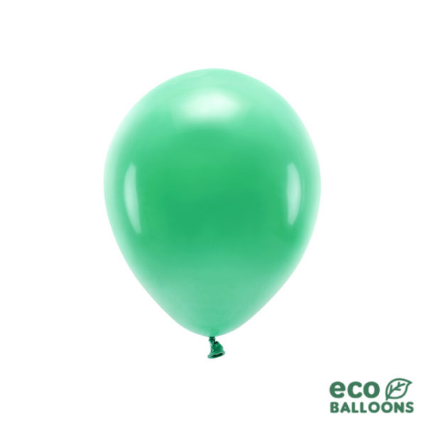10 ECO-Luftballons - Ø 26cm - Green