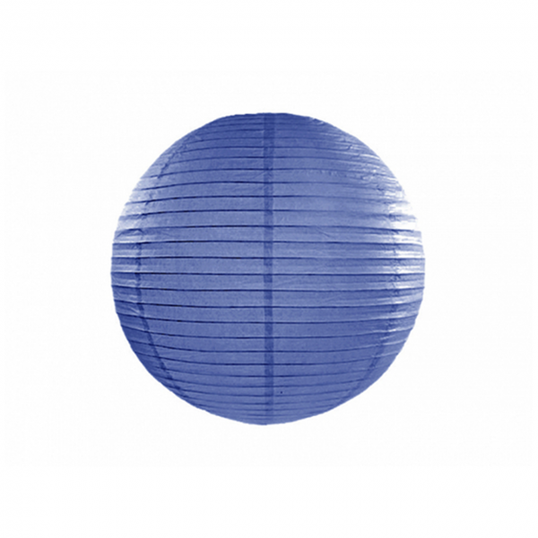 1 Lampion - Ø 25cm - Blau