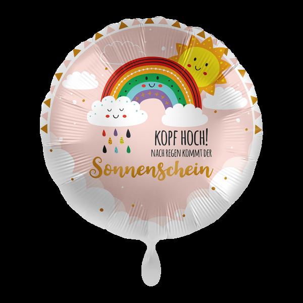 1 Ballon - Kopf Hoch Sonnenschein