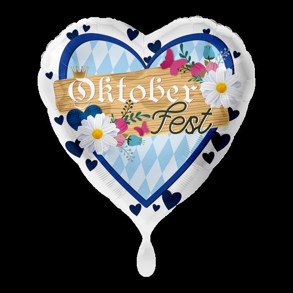 1 Ballon - Oktoberfest Blau