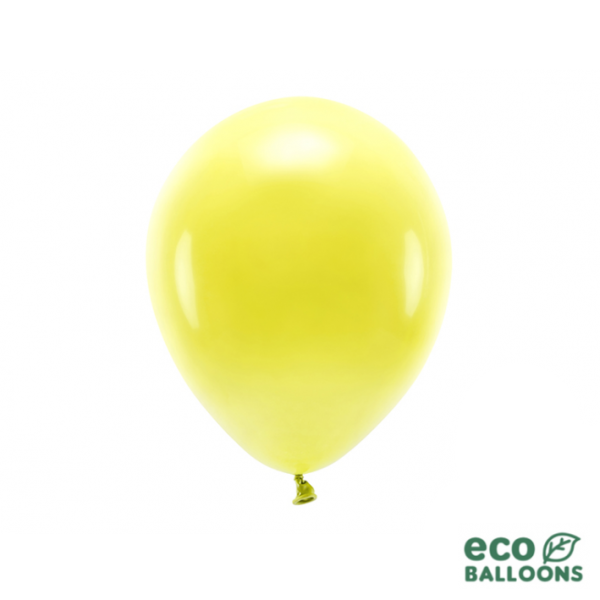 100 ECO-Luftballons - Ø 26cm - Yellow