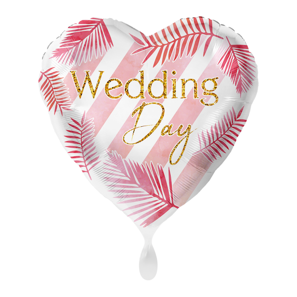 1 Ballon - Wedding Day Modern