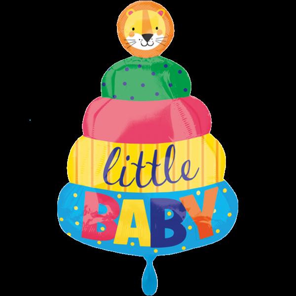 1 Ballon - Baby Stacking Toy