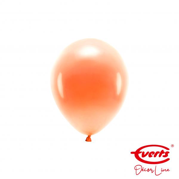 100 Miniballons - DECOR - Ø 13cm - Pearl & Metallic - Tangerine
