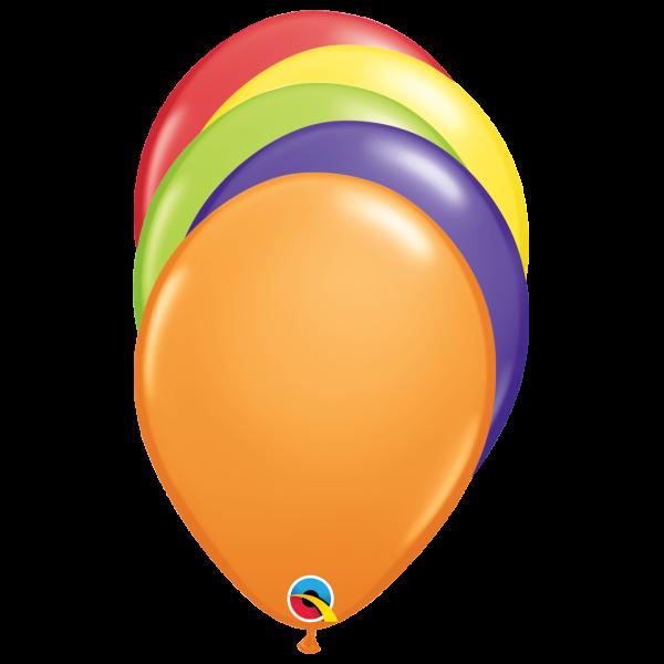 100 Luftballons - Ø 27cm - Carnival Mix