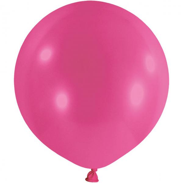 1 Riesenballon - Ø 1m - Pink