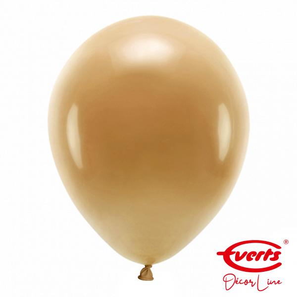 50 Luftballons - DECOR - Ø 35cm - Mocha Brown