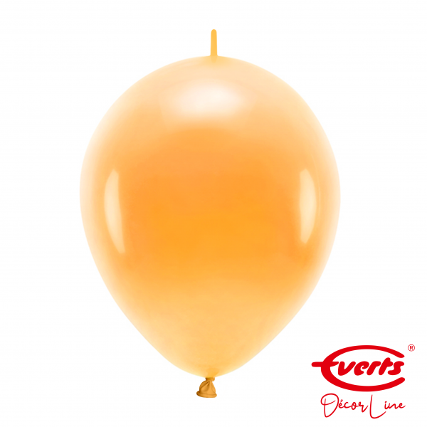 50 Girlandenballons - DECOR - Ø 30cm - Orange Peel