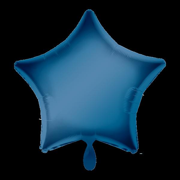 1 Ballon - Stern - Blau