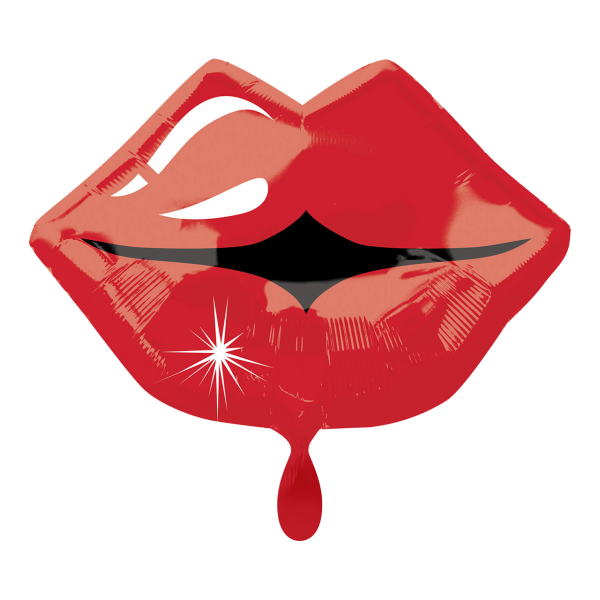 1 Ballon - Kissy Lips