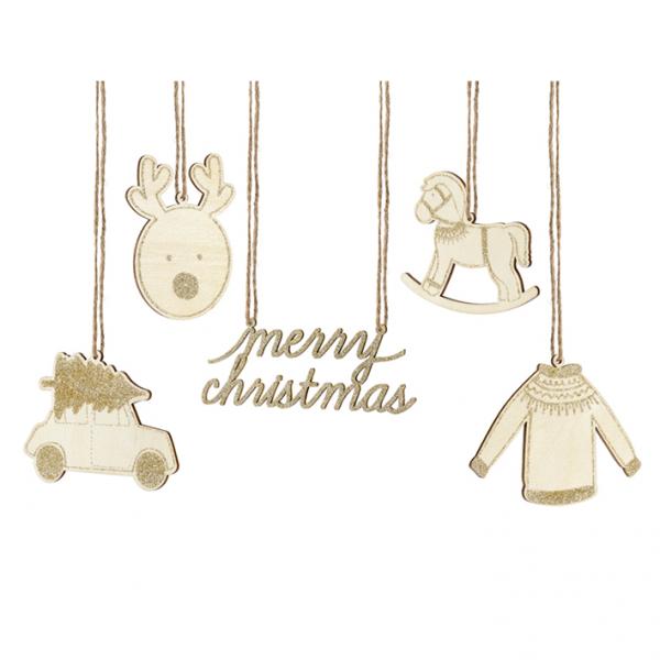 1 Dekoset - Hanging - Christmas