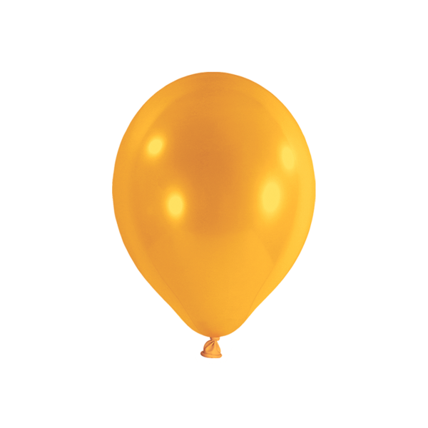 100 Luftballons - Ø 23cm - Orange