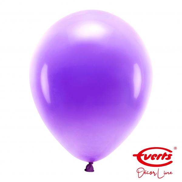 50 Luftballons - DECOR - Ø 35cm - Pearl & Metallic - Purple