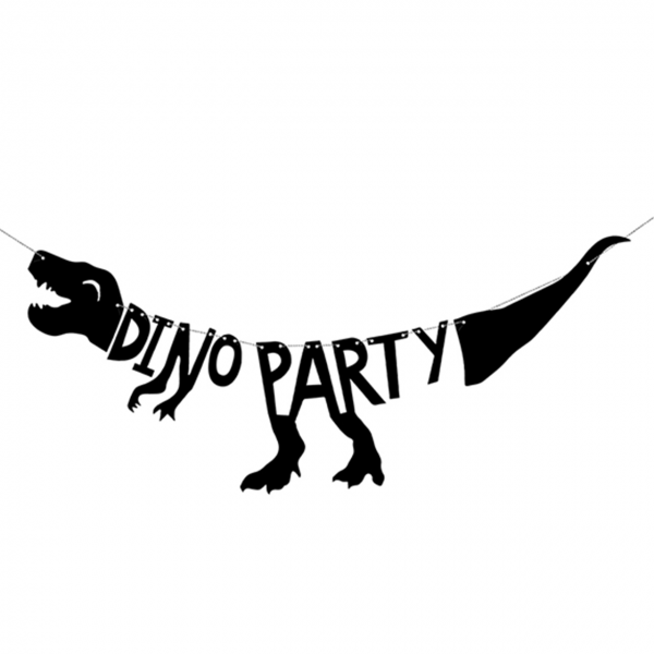 1 Bannergirlande - Dino Party